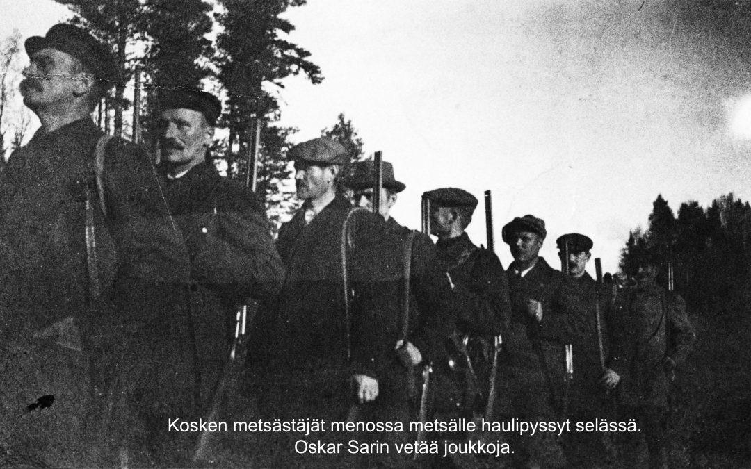 Onnittelut 70-vuotiaalle Kosken Metsästysseura r.y:lle