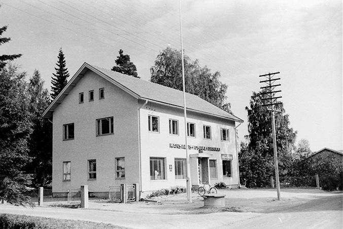 Kansallis-Osake-Pankki, Koskenpankki Etola. | Kosken Kohinat