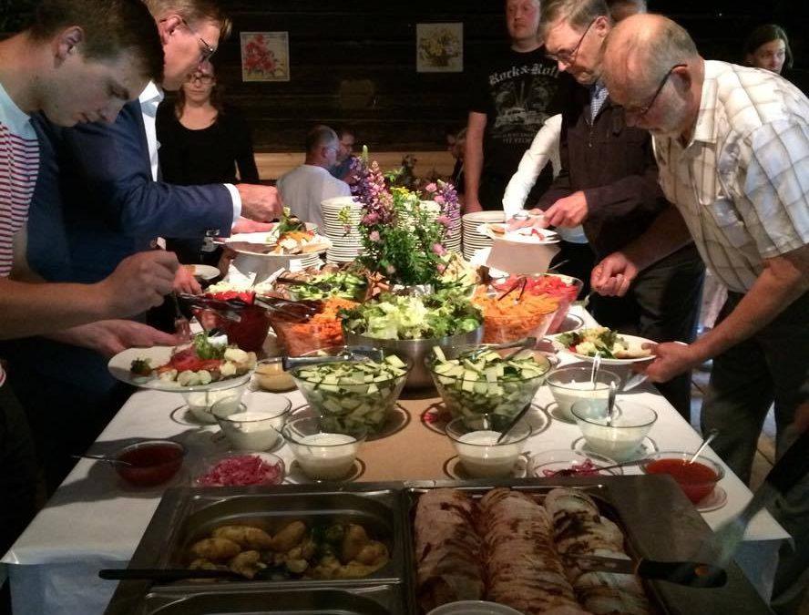 Satavuotiasta MTK Hämeenkoskea juhlittiin Tulimäessä