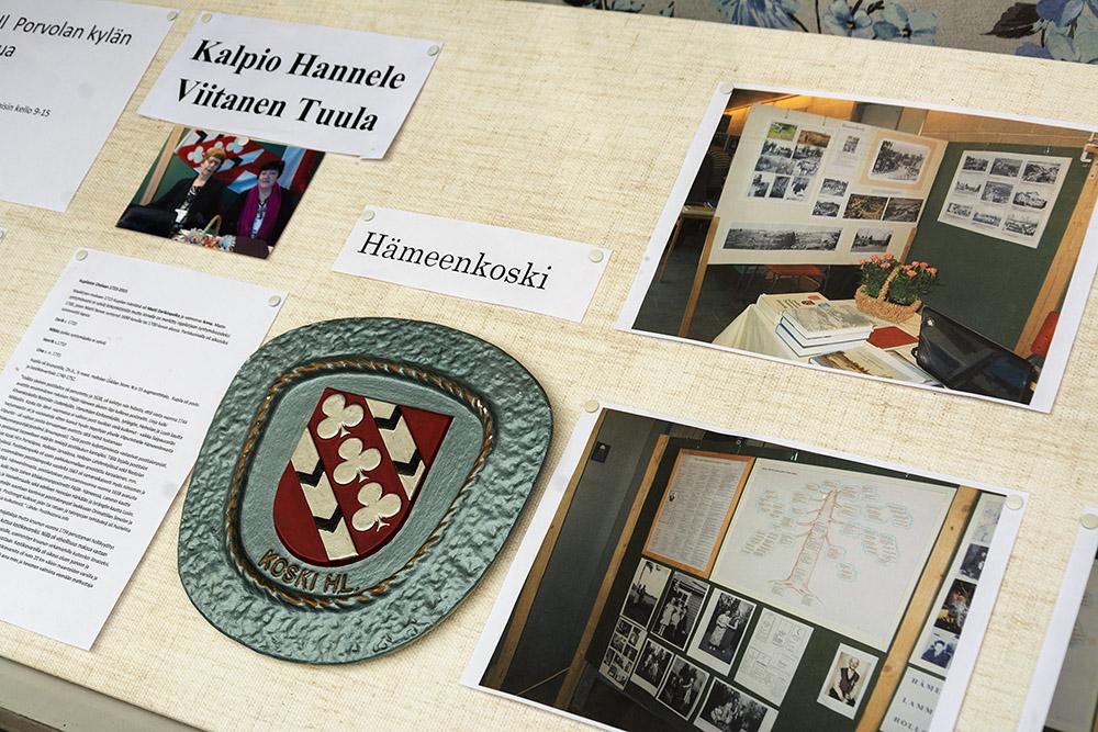 Näyttelyitä Koski-seuran toimistolla elokuussa