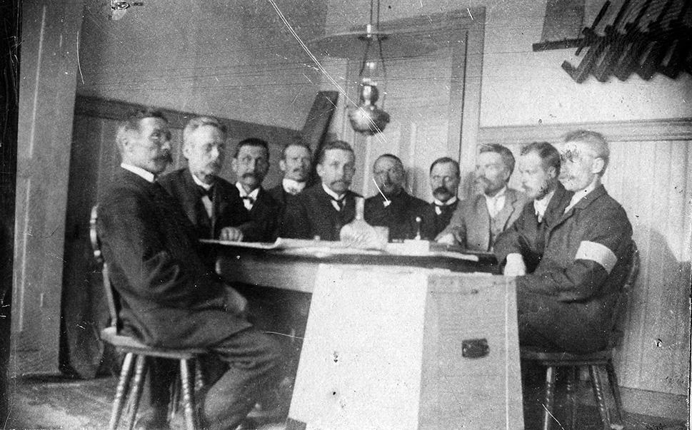 Kosken Hl. Waalilautakunta 1907