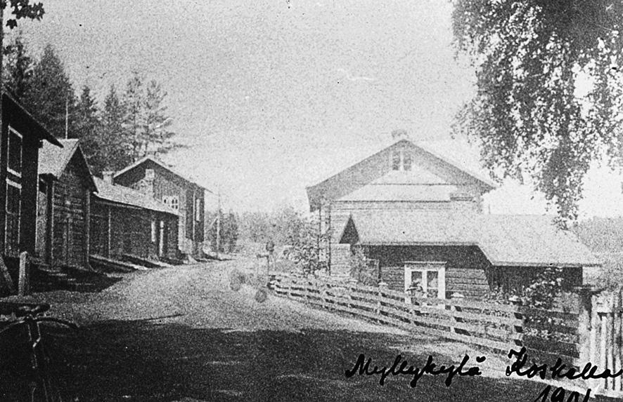 Myllykylä 1900-luvun alussa