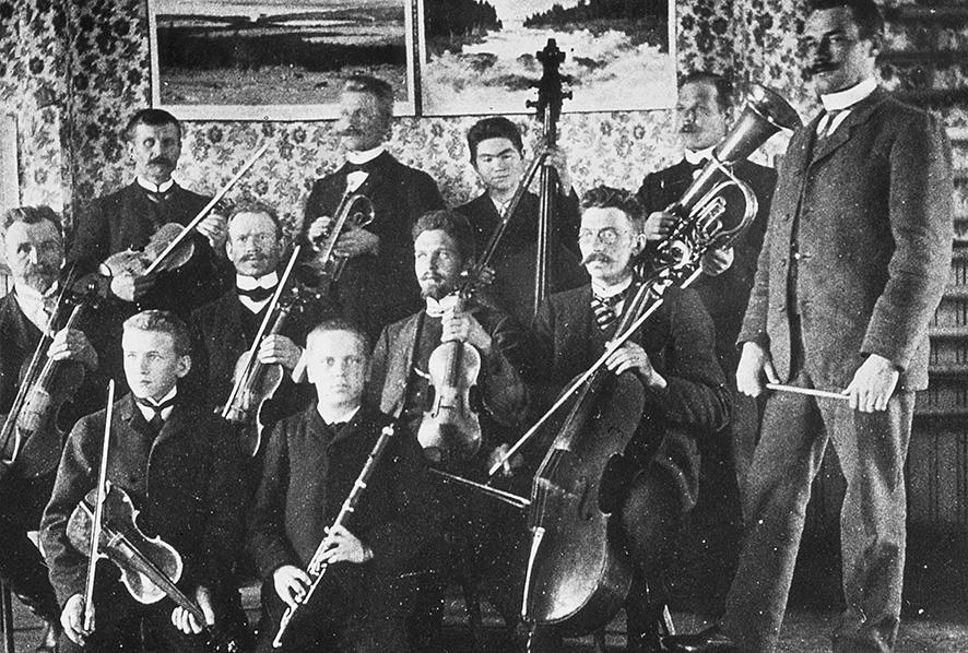 Kosken orkesteri 1904 – 1908