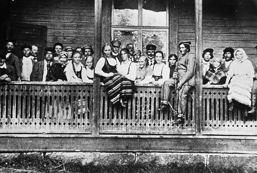 Kosken Nuorisoseuran näyttelijät v. 1920 – 1921