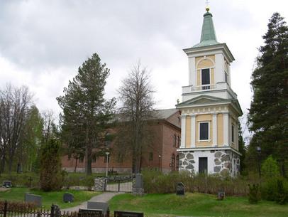Hämeenkosken kirkko ja kellotapuli