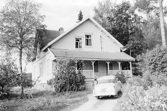 Auri, Pentti. Rauhamaa Koskenkylä.