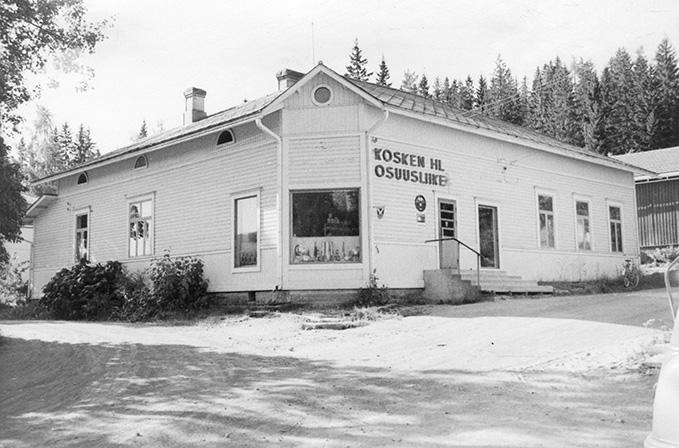Kosken Hl Osuusliike II. Koskenkylä.