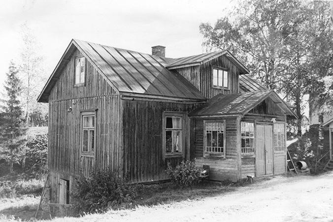Laine, Selma. Purola Koskenkylä.