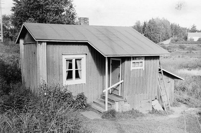 Lehtonen, Hugo. Koskenkylä.