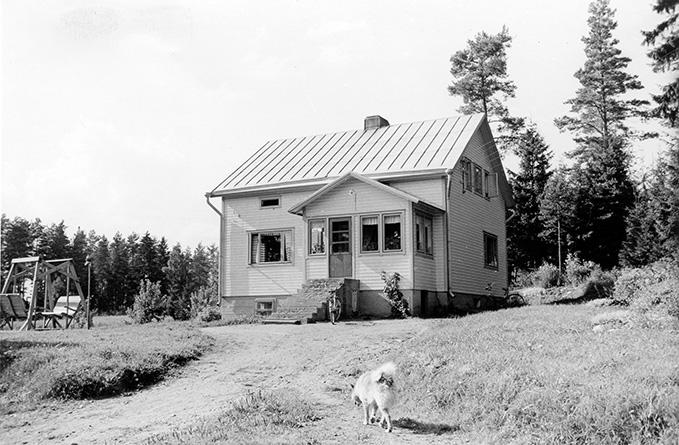 Olenius, Arvo. Suojala Koskenkylä.