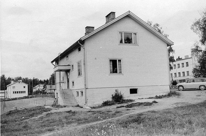 Osuuskassa. Kassala Koskenkylä.