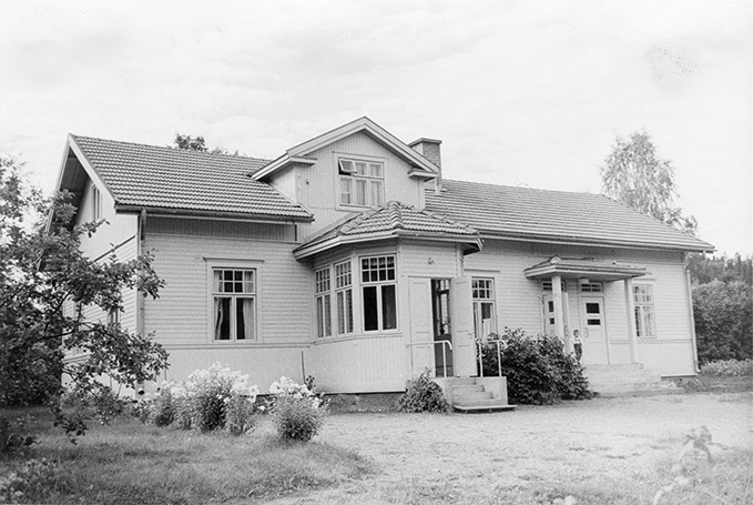 Pappila. Jokiniemi Koskenkylä.