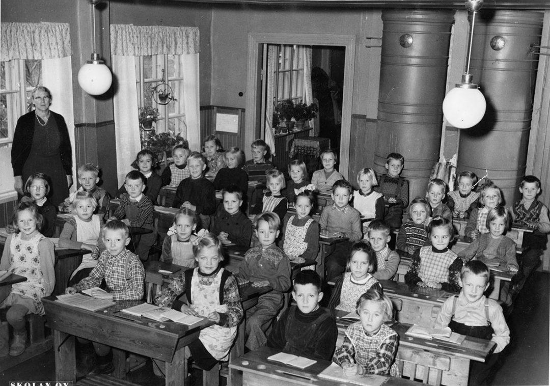 Kirkonmäen alakansakoulu 1955-1956