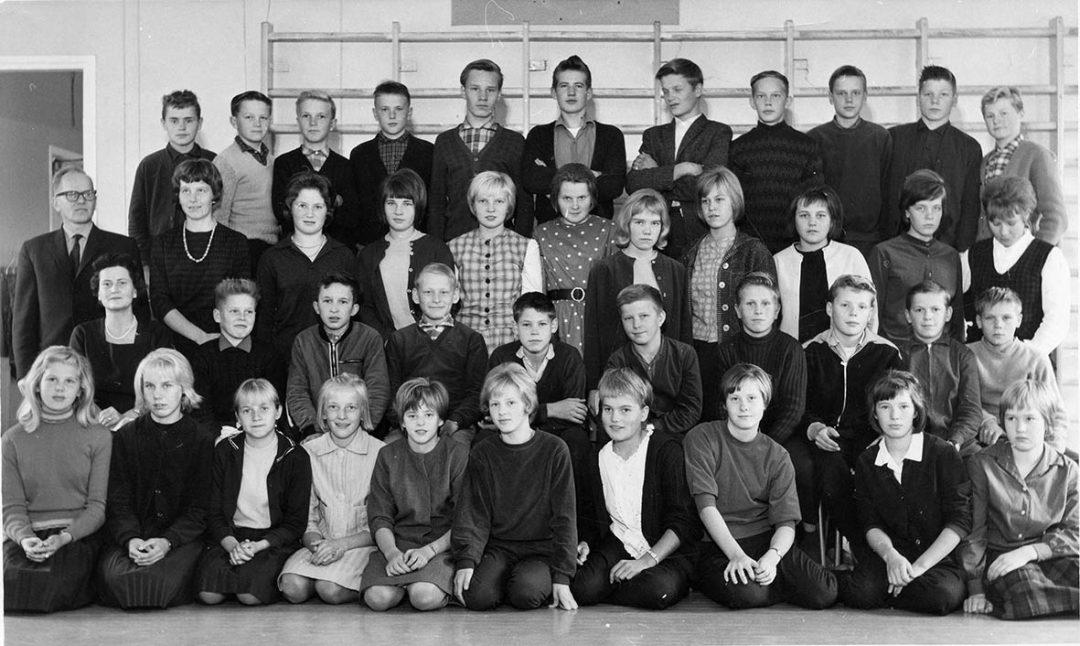 Luokkakuva 1963 – 1964