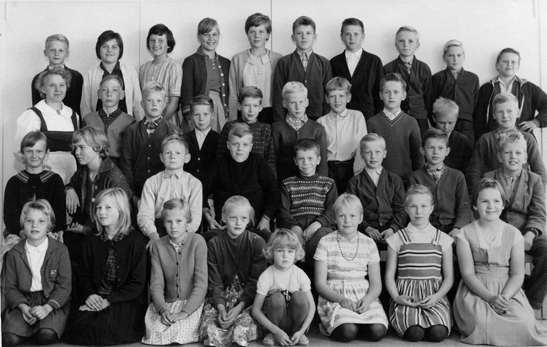 Luokkakuva 1959 – 1960