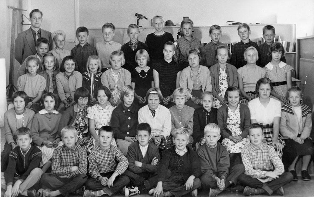 Luokkakuva 1958 – 1959