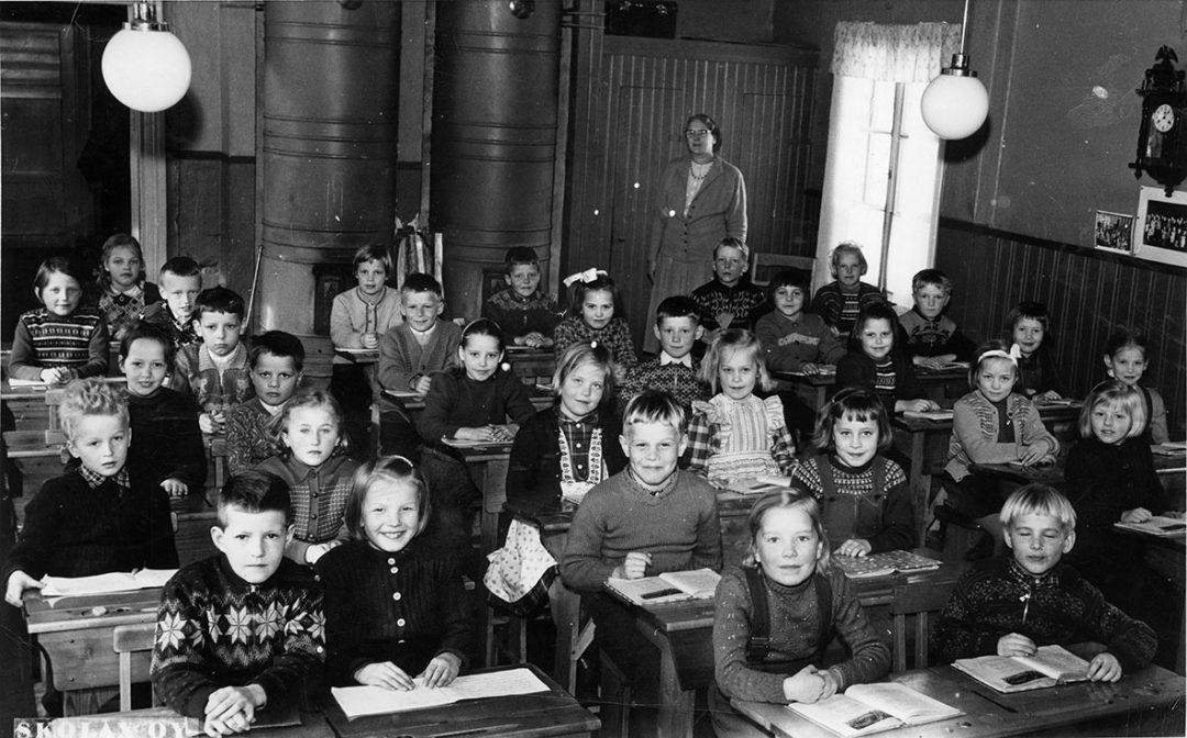 Luokkakuva 1956 – 1957
