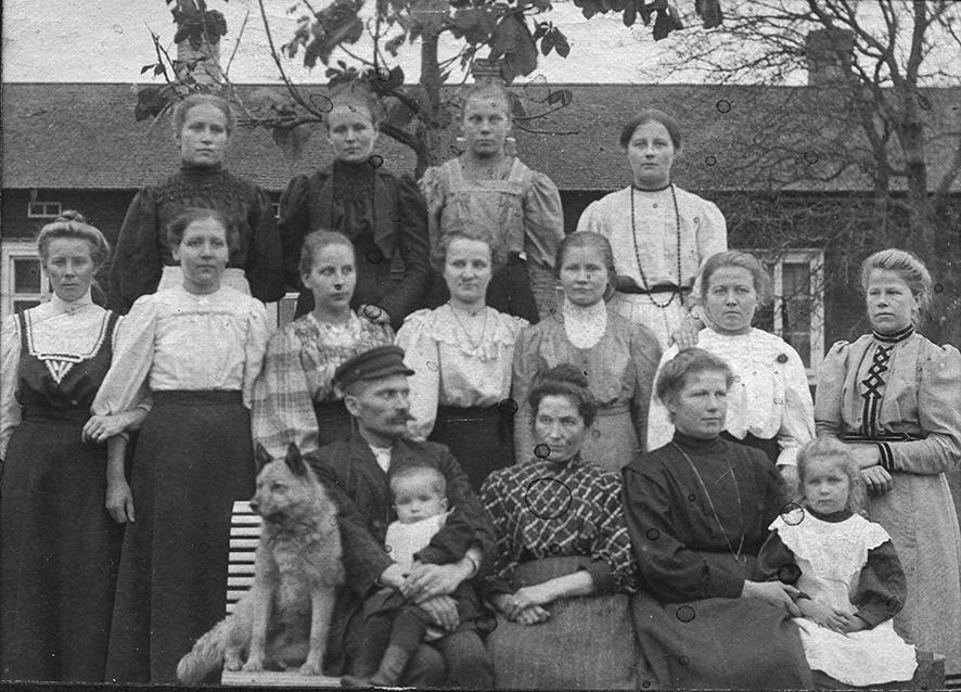 Karjakkokurssi Käikälässä 1909-1910