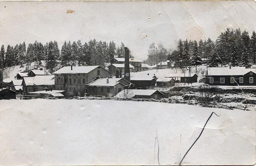 Verkatehtaan seutua 1920-luvulla