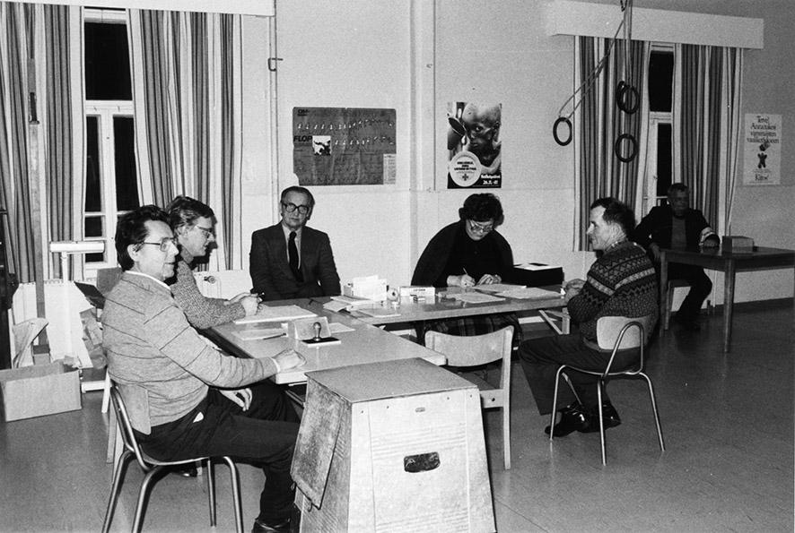 Kirkonkylän vaalilautakunta 1982