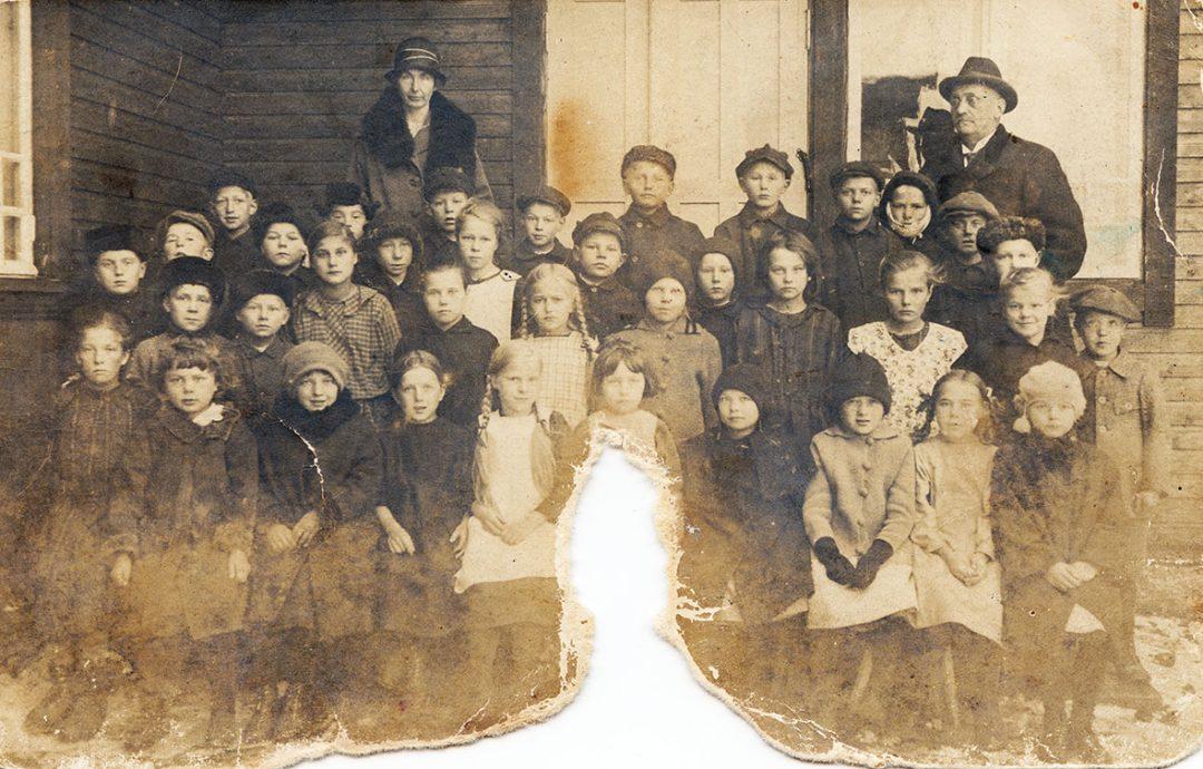 Kirkonkylän kansakoulu 3. luokka