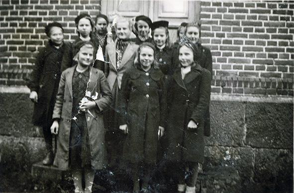 Rippikoulussa 1942 – 1943