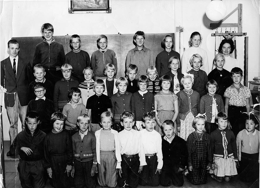 Etolan kansakoulu 1961 – 1962