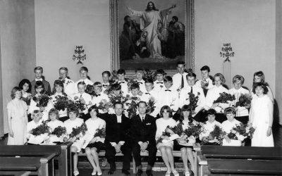 Kesän 1967 rippikoulun 50-vuotisjuhla