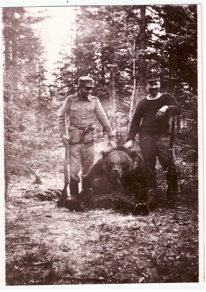 Arvo Peltolan karhunkaato
