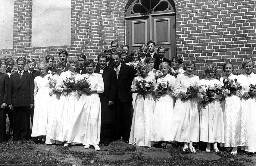 Rippikoululaiset 1953