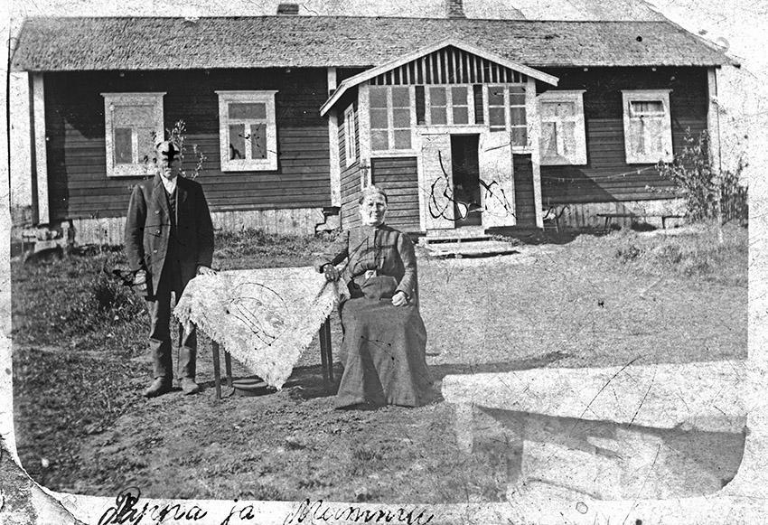 Emil Vuorelan vanhemmat Sivanderin pariskunta