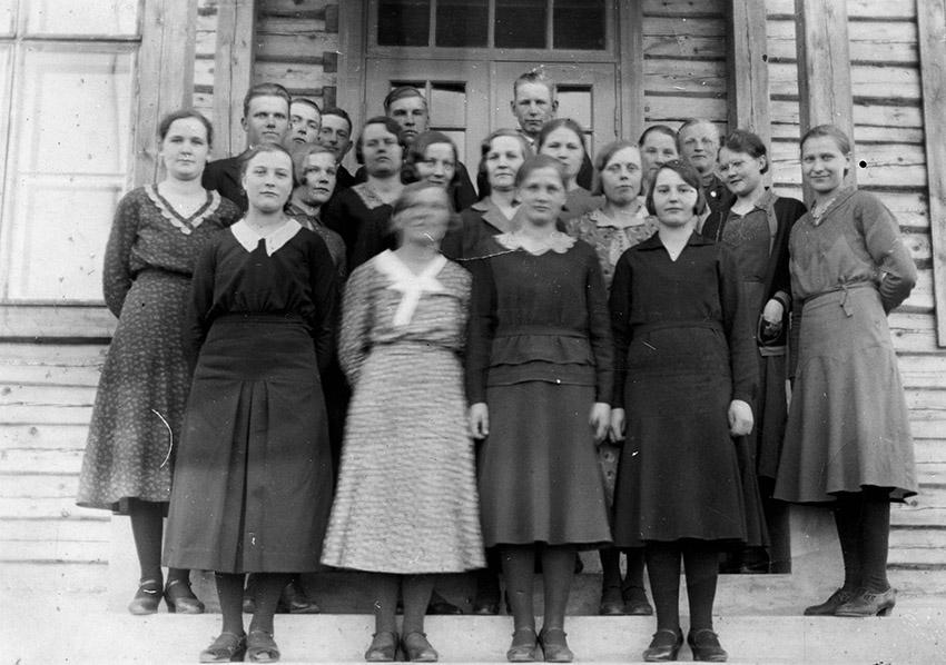 Palomaan opintokerho 1935