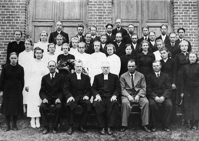 Vuoden 1940 rippikoululaiset