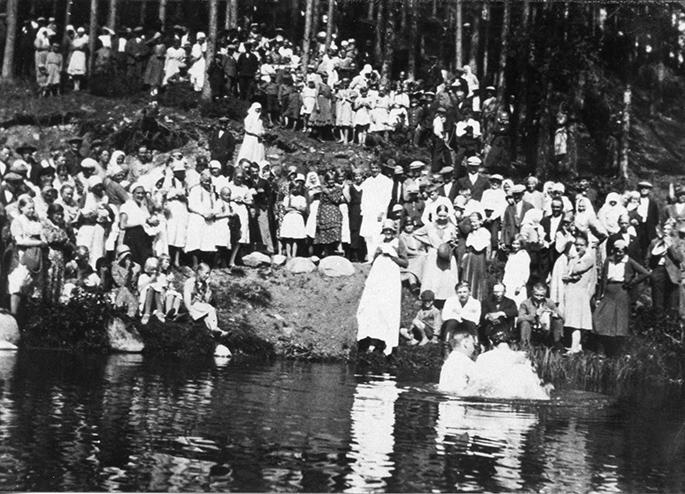 Helluntai-seurakunnan kastetilaisuus