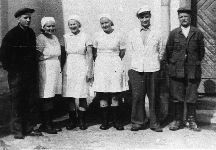Osuusmeijerin henkilökunta v. 1947