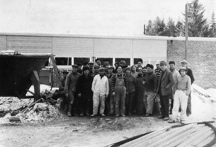 Kunnalliskodin rakentajat v. 1967