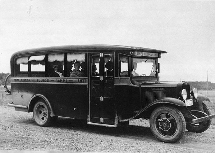 Kalle Pekolan linja-auto