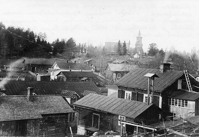Kosken kirkonkylää