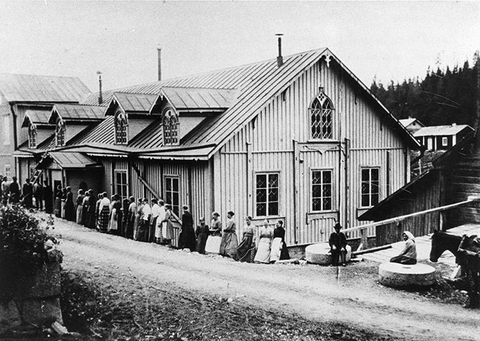 Verkatehdas vuonna 1894