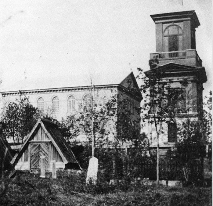 Vanhaa hautausmaata