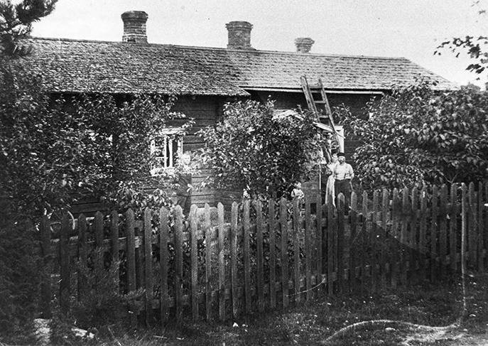 Hietamaan vanha asuinrakennus
