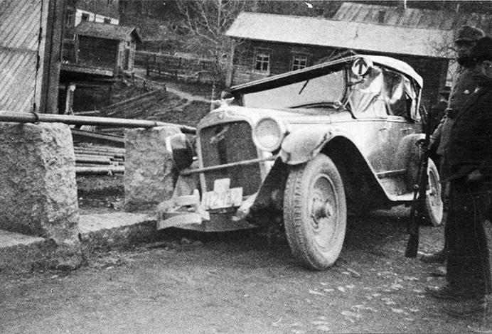 Maria Åkerblomin auto