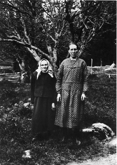 Maija ja Hilma Lammasmäki