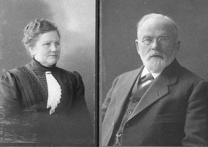 Antti ja Rosa Korhonen