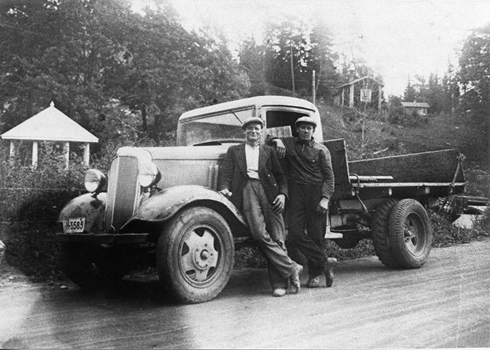 Kustaa Aaltosen kuorma-auto
