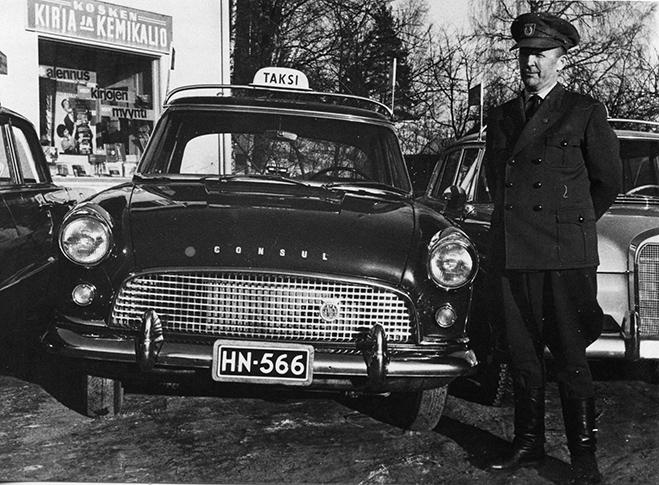 Taksiautoilija Määttänen