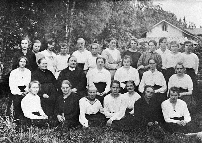 Lottia vuonna 1922