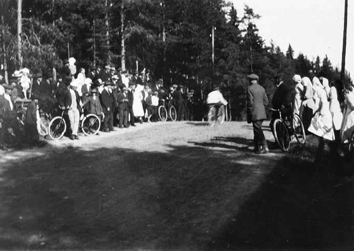 Moottoripyöräkilpailu 1913