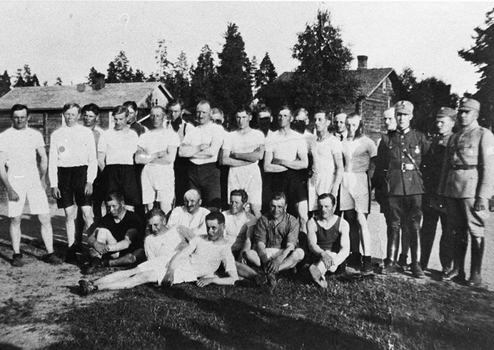 Koskelaisia urheilijoita vuodelta 1921