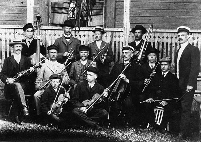 Kosken orkesteri v. 1908